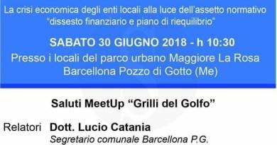 Politica. Barcellona PG, convegno al Parco La Rosa sulla crisi economica degli enti locali