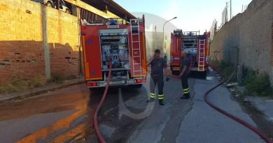 Cronaca. Messina, Zona Falcata: a fuoco discarica abusiva