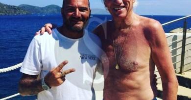 Attualità. Vacanze alle Isole Eolie per l'ex tecnico della Roma Carlos Bianchi