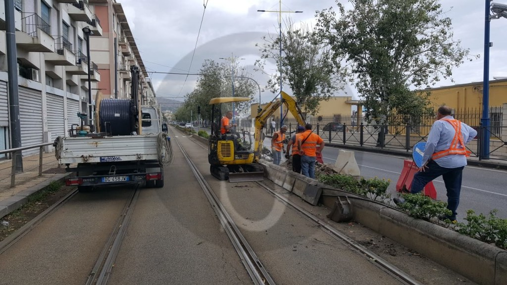Cronaca. Messina, la pioggia manda in tilt la linea tranviaria: si lavora al ripristino