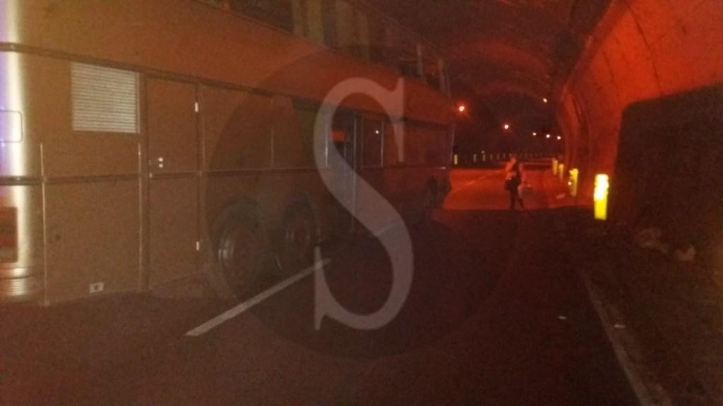 Cronaca. Incidente sulla Messina-Palermo tra auto e pullman: 4 feriti