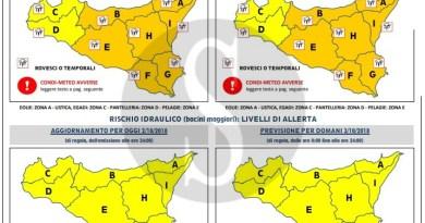 Meteo. Messina, allerta codice arancione per le prossime 36 ore