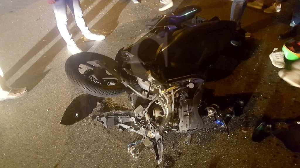 Cronaca. Messina, scontro tra auto e scooter in viale Europa: un ferito