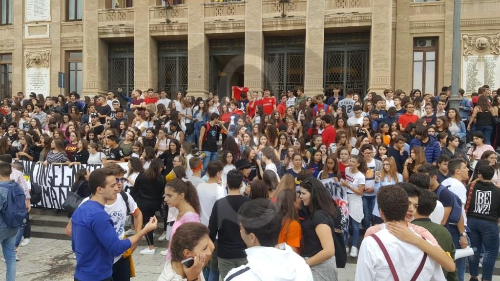 Cronaca. Fotonotizia, protesta studenti a Messina per diritto allo studio