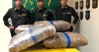 Cronaca. Nascondevano 140 chili di droga: arrestati due trafficanti a Belpasso