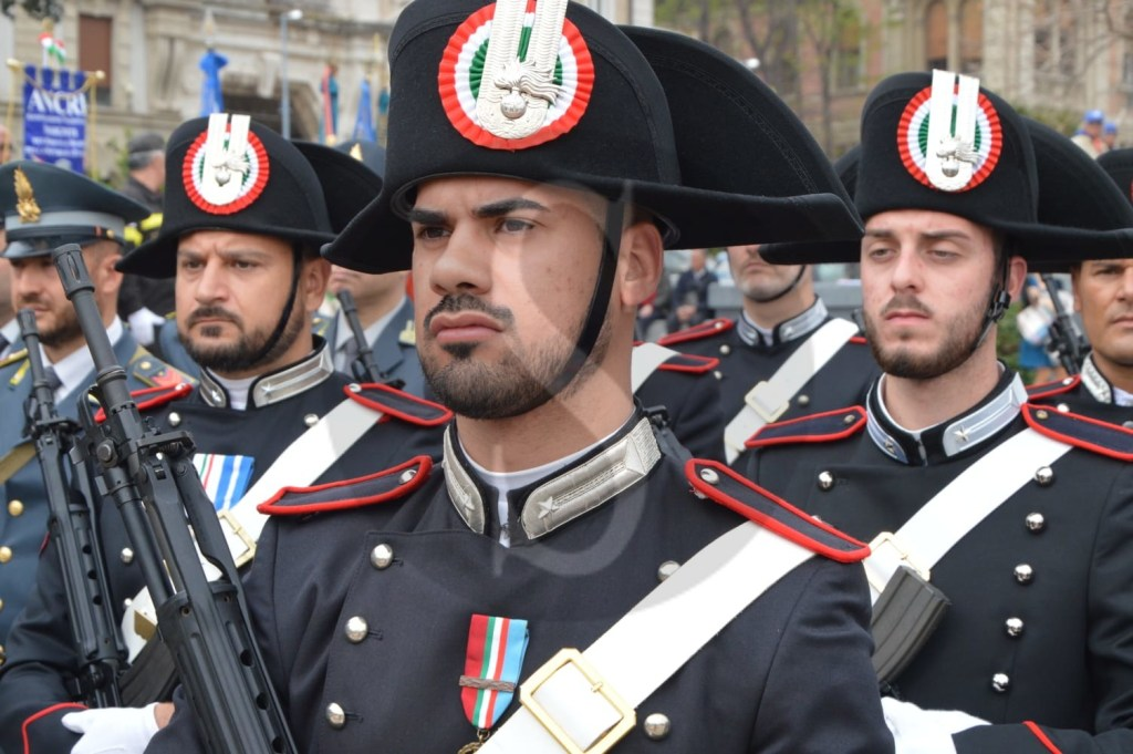 Messina, celebrata in piazza Unione Europea la Festa della Liberazione