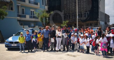 Fondachello Valdina, i bambini delle elementari a scuola di sicurezza stradale