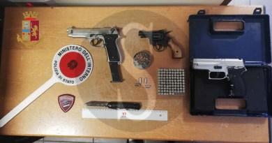 Punta la pistola contro cani randagi, denunciato sessantacinquenne messinese