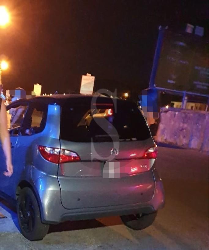 Barcellona PG, incidente tra microcar e moto in via del Mare: ferito il centauro