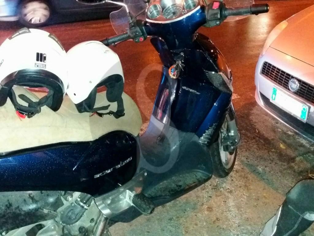 Messina, incidente in via Tommaso Cannizzaro tra auto e scooter: 2 feriti