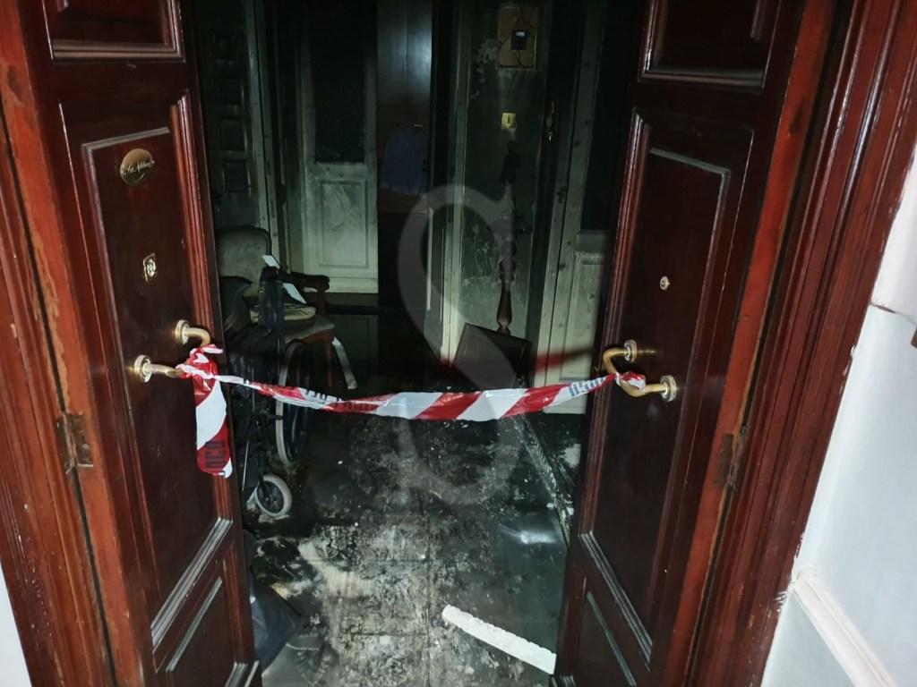 Messina, tragedia in via Boner: donna muore carbonizzata