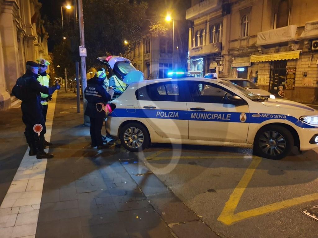 Messina, movida senza freni e controllo del territorio: pioggia di multe e sequestri
