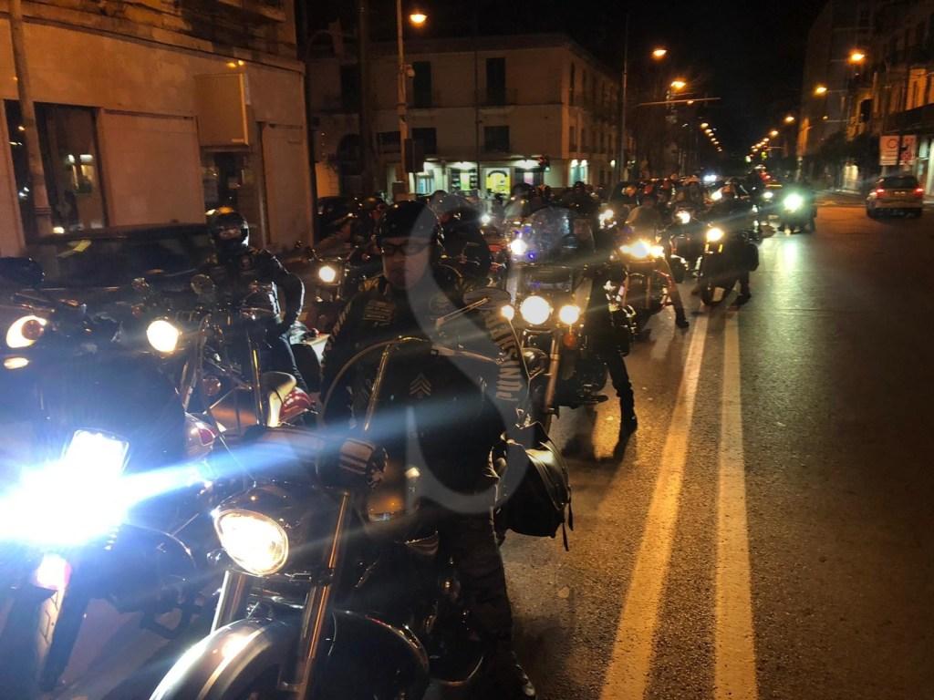 Night ride by Punishers Mc Italy: alla scoperta della città sulle Harley-Davidson