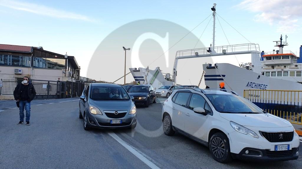 Coronavirus Messina, ancora sbarchi in Sicilia: con la nave delle 18.20 della C&T arrivano 280 persone