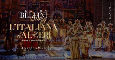 """Catania, Teatro Bellini Story: il 19 aprile diretta streaming dell'opera """"L'italiana in Algeri"""""""