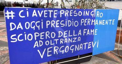 """Prestito 25.000 euro, imprenditore in sciopero della fame: """"Le banche ci sbattono le porte in faccia"""""""