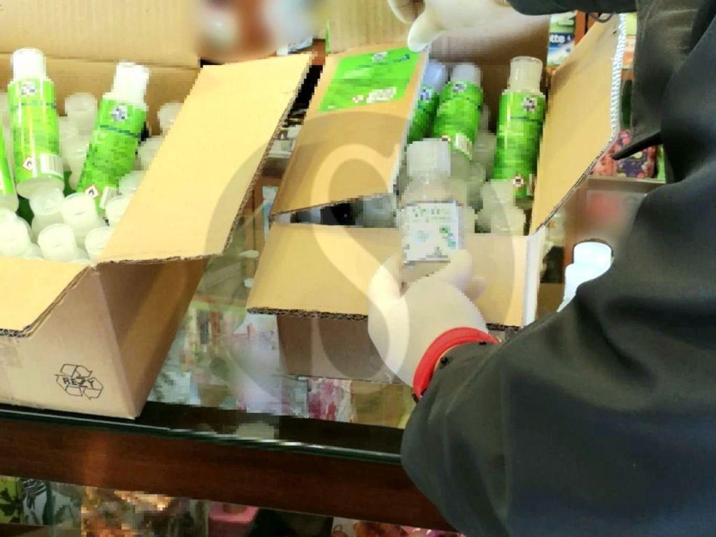 Messina, truffe e coronavirus: sequestrati oltre 6.300 flaconi di falso gel sanizzante, 12 denunciati