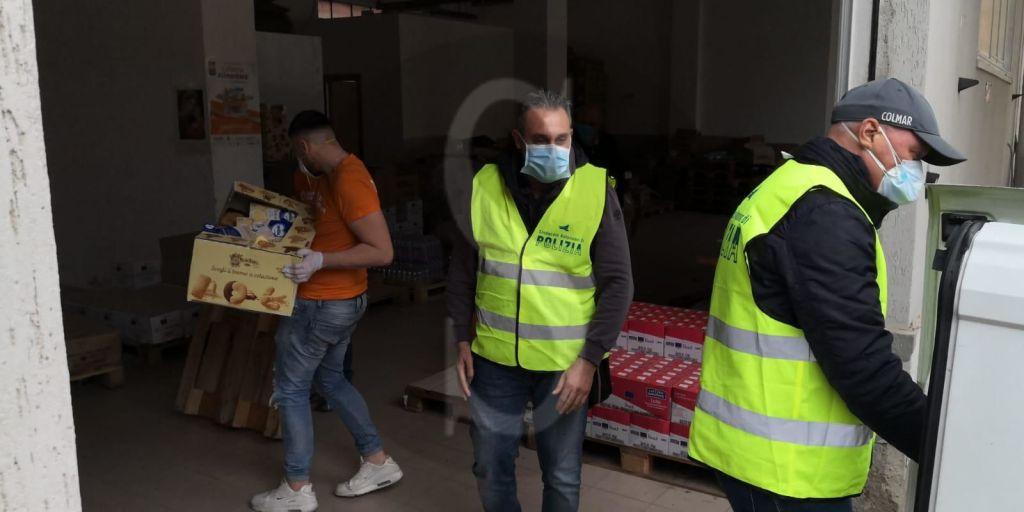Emergenza coronavirus Messina, il SAP dona beni di prima necessità al Banco Alimentare