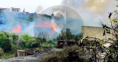 Incendio a Spadafora, case evacuate e animali divorati dalle fiamme