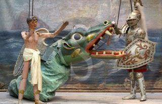 Palermo, il Museo delle marionette Pasqualino presenta i pupi Nofrio e Perdomani