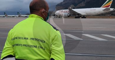 Coronavirus Sicilia, arrivano dalla Cina altre 36.000 tonnellate di materiale sanitario della Regione