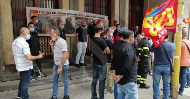 Catania, forte adesione e partecipazione allo sciopero indetto da USB Vigili del Fuoco