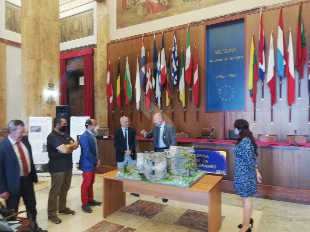 Messina, il Comune punta sui Beni culturali: presentato oggi il plastico di Castel Gonzaga