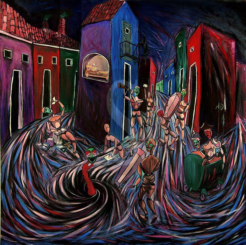 Marsala, echi futuristi e pittura figurativa: al Convento del Carmine al via la personale di Alessandro Licciardello