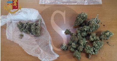 Messina, 34enne arrestato in flagranza di reato: aveva addosso 20 grammi di marijuana