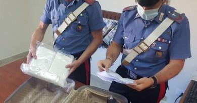 Spaccio di droga tra Sicilia e Calabria, pusher arrestato alla Caronte con oltre 2 chili di cocaina