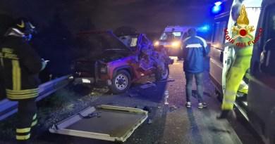 Incidente stradale sulla Messina-Palermo tra Rometta e Milazzo: 2 feriti
