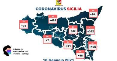 Emergenza coronavirus, la Sicilia prima in Italia per numero di contagi: 1.278