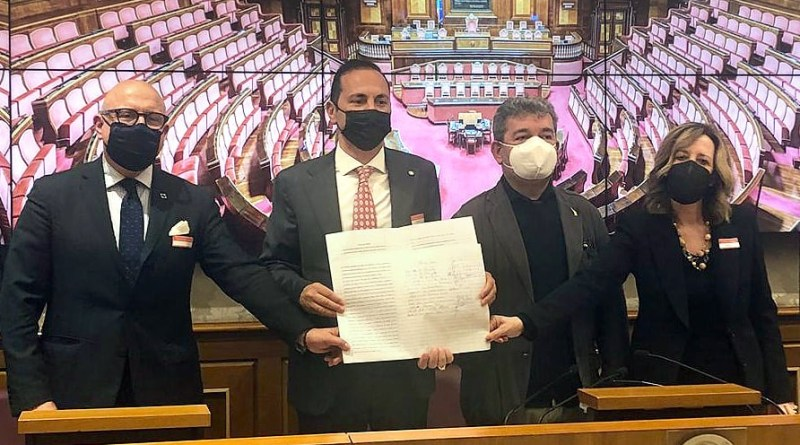 Roma, presentato in Senato il Patto del Ponte