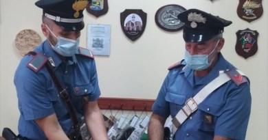 I Carabinieri arrestano 40enne barcellonese per detenzione ai fini di spaccio di sostanze stupefacenti