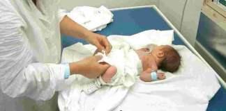 neonato abbandonato