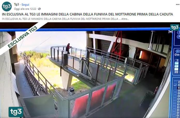 video incidente mottarone