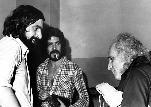 Club Tenco 1975: Francesco Guccini, Enzo Capuano e Leo Ferrè
