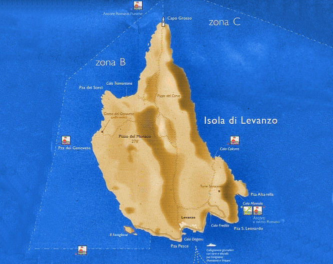 Rent Of Boat In Levanzo Island Excursions And History Of Levanzo Island