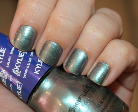 Sinfulcolors X Kylie Denim And Bling Kameleon Nail Acid Wash