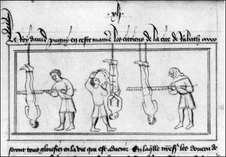 sawing execution, Most Gruesome Executions