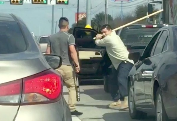 Watch This Road Rage Incident Turn Into A Brutal Stick ...