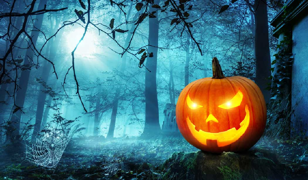 Halloween-Story über Kürbis Jack