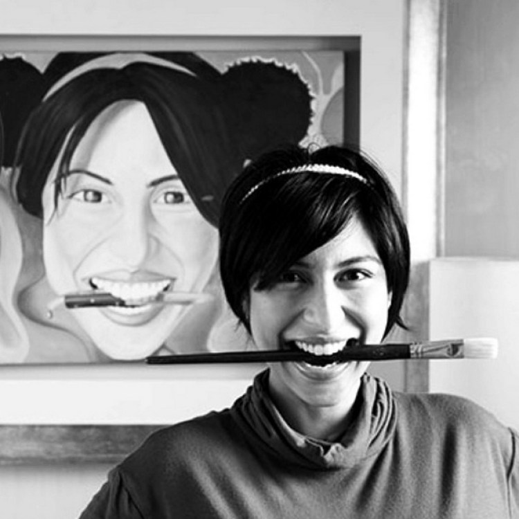 Meesha Shafi the Artist