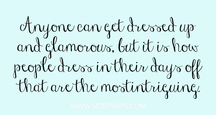 Quote about dressing up alexander wang