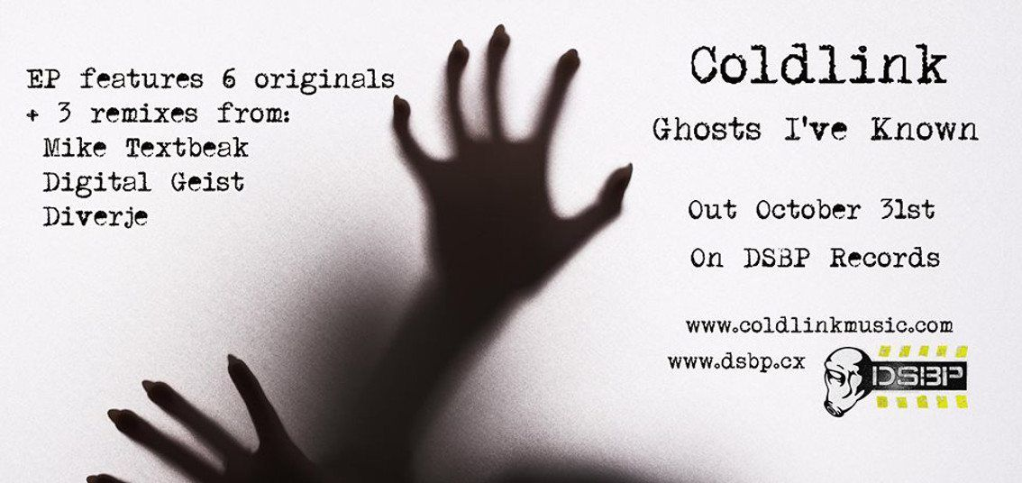 Coldlink launches'Ghosts I've known' album on DSBP Records