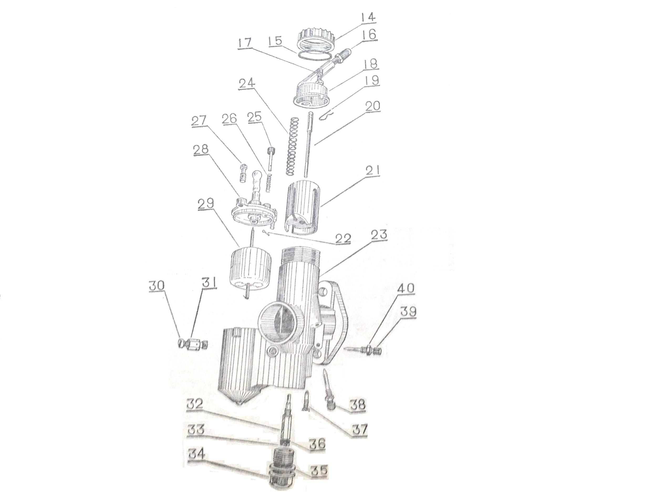 Cj750 Parts Chang Jiang750 Pz 28 Carburetor Repair Kit