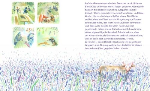 Buch: Detektiv Dachs im Emmental - Der Blumenkäse - Seite 12