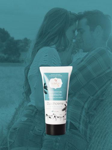 Molke-Duschcreme Aktivierende Waldfrische von Sidefyn Cosmetics
