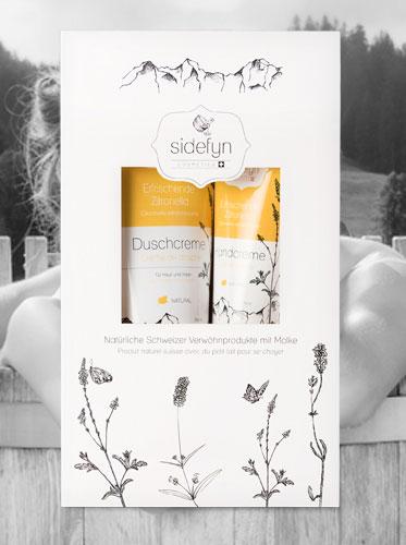Sidefyn Geschenkset Duschcreme & Handcreme
