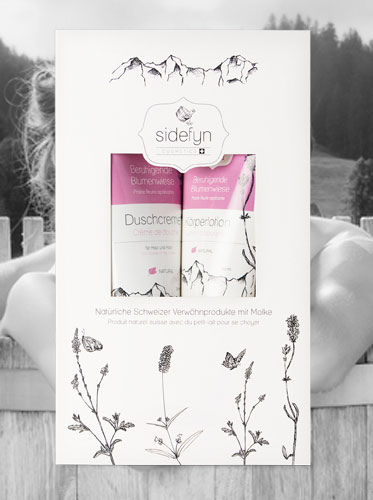 Sidefyn Geschenkset Duschcreme & Körperlotion